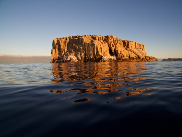The Hippolyte Rock off Pirates Bay on Tasman Peninsula.