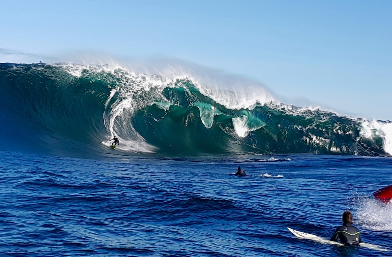 The iconic wave a Shipsterns Bluff.